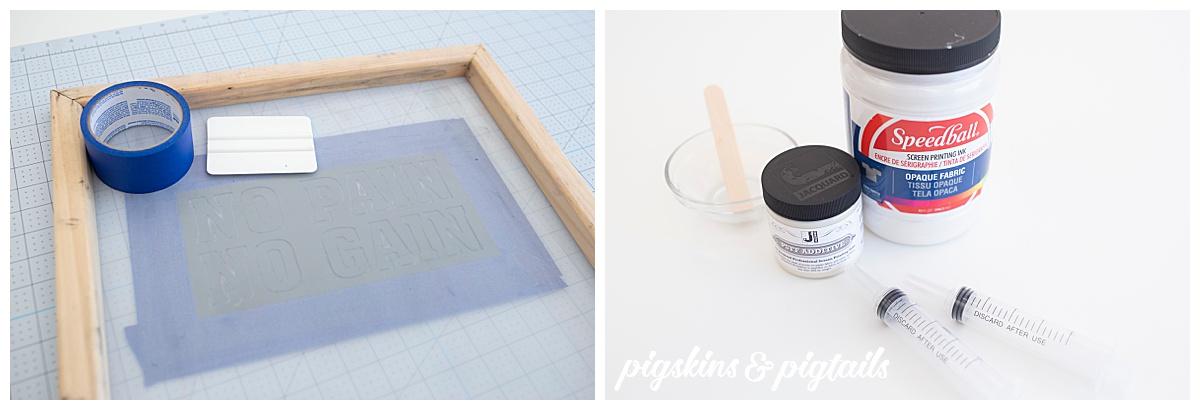jacquard puff additive speedball fabric ink tutorial