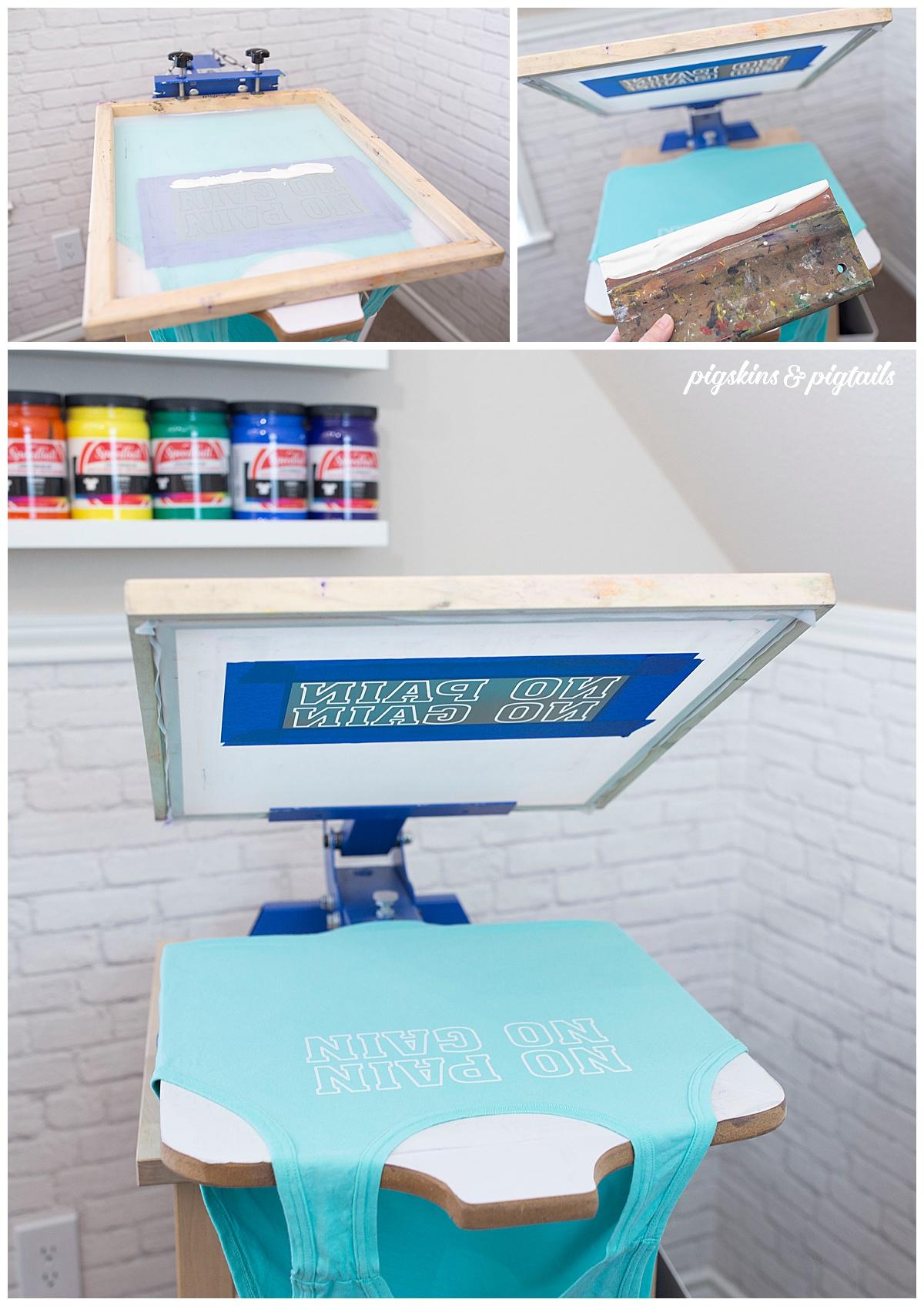 screen printing press jacquard speedball