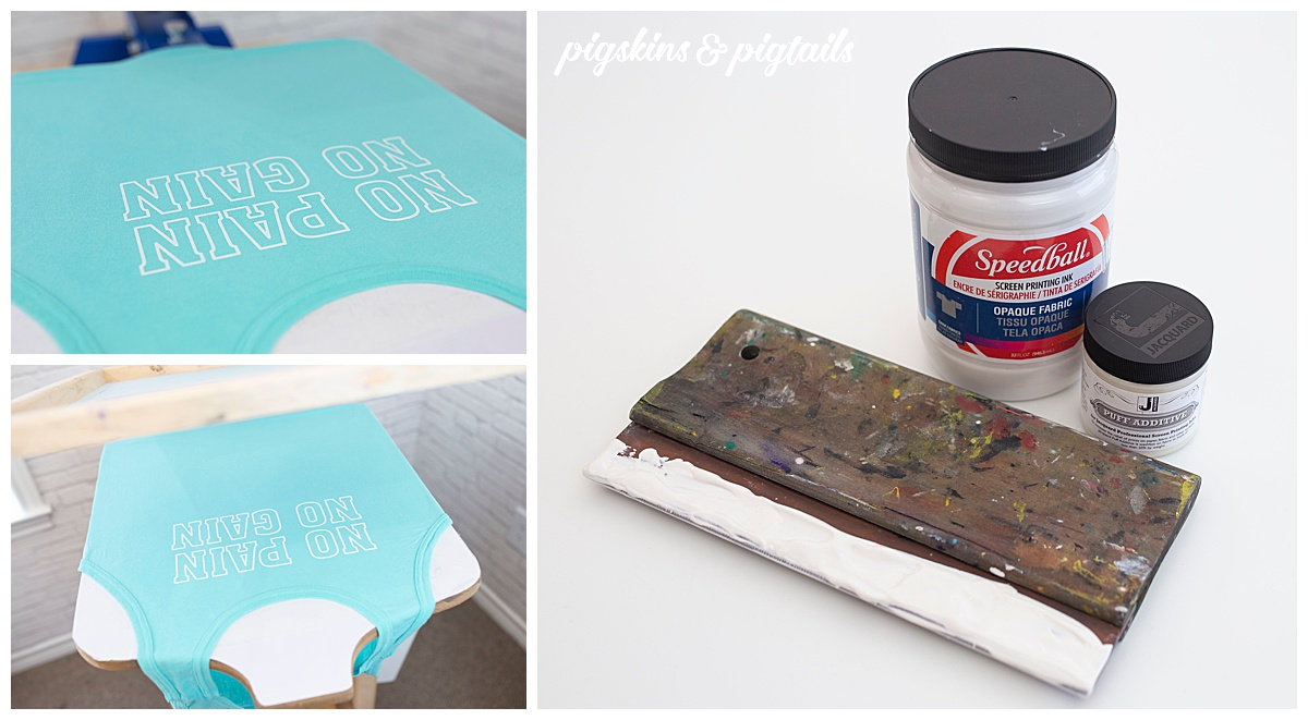 screen printing puffy paint how to