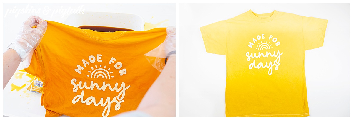 tie dye shirt screen print cricut vinyl