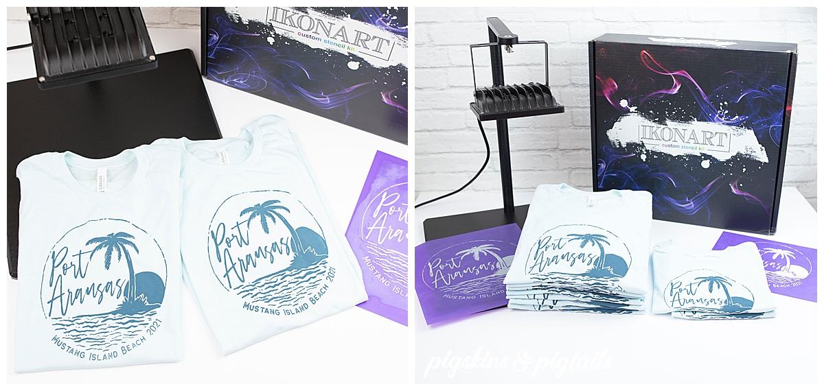 ikonart custom screen printing kit diy