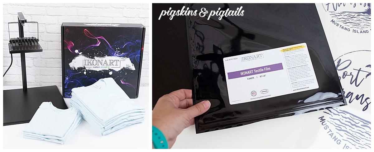 screen print ikonart stencil film emulsion