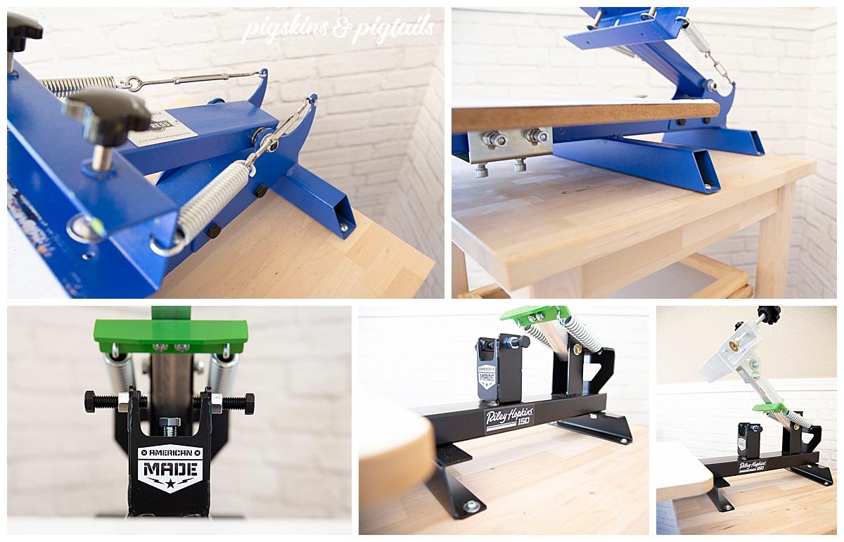 1-color press setup amazon riley hopkins 150