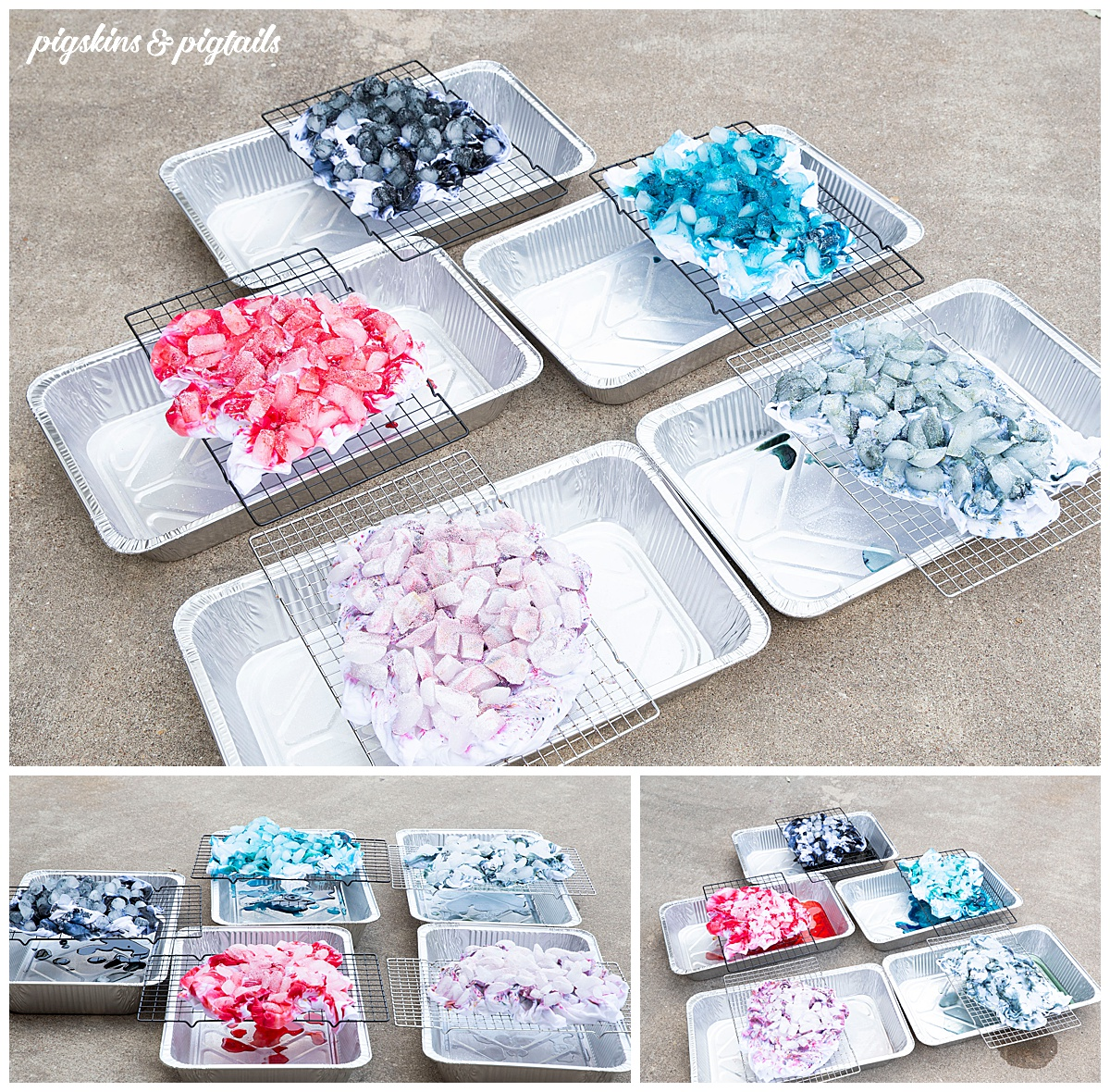 how to ice dye shirt tips