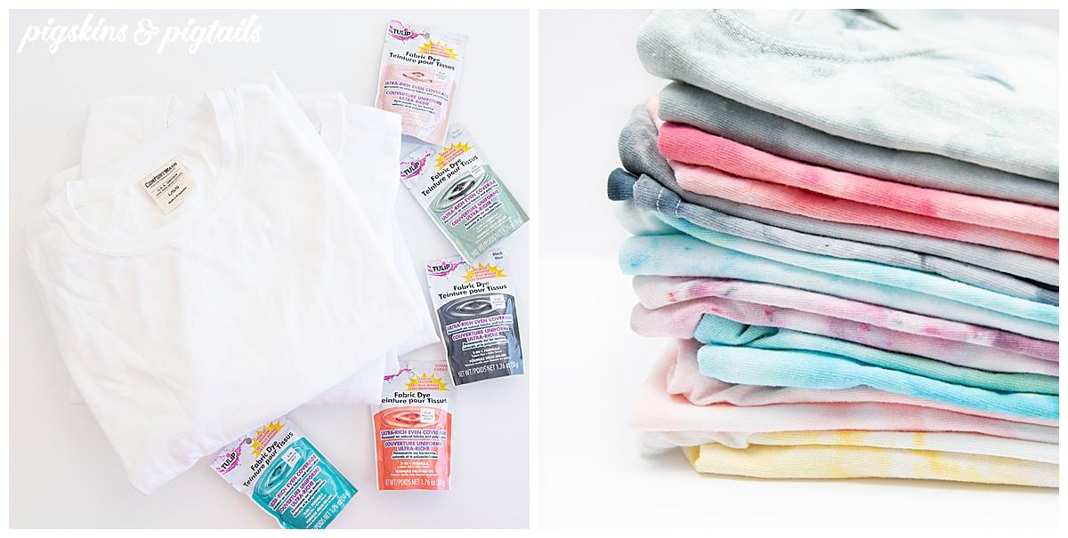 ice dye shirt how to