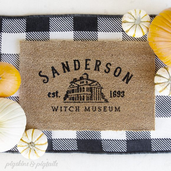 coir door mat rug screen print personalized diy